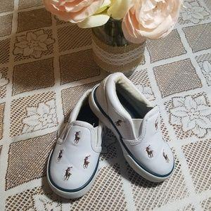 Boy's Ralph Lauren Sneakers Size 6